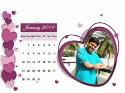 Snehitha N. verified customer review of 6x8 12 Months Love Calendar