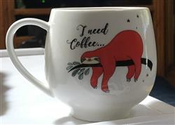 Alice R. verified customer review of Sloth Gift Boxed Mug