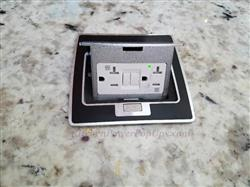 CAROL S. verified customer review of Kitchen Countertop Pop Up 20A GFI Protected Power Outlet, Black