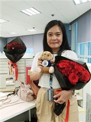 Andre M. verified customer review of Black Pearl Classic Red Big Bouquet