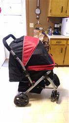Anonymous verified customer review of PET ROVER™ Premium Stroller for Small/Medium/Large Dogs, Cats and Pets (Red)