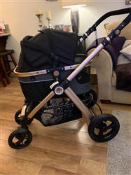 allison verified customer review of PET ROVER PRIME™ Luxury 3-in-1 Stroller for Small/Medium Dogs, Cats and Pets (Black)