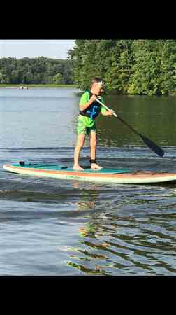 Anonymous verified customer review of Cruiser SUP Sherpa Dura-Shell 11'4 Fishing Paddle Board