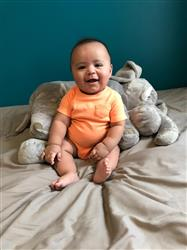 Melisa verified customer review of Baby Elephant Lovey
