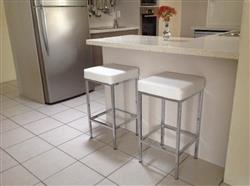 Joe F. verified customer review of Aim - Alicia Bar Stool (Set of 2) White