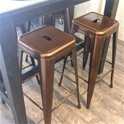 Jovin L. verified customer review of Tolix Replica Bar Stool 76cm (Set of 2) Bronze