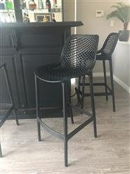 stacey m. verified customer review of Bayne - Yorkshire Bar Stool 75cm Black