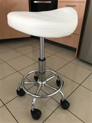 Stella Salon Stool White