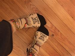 Amy M. verified customer review of Give em Hell Socks - Ankle Socks for Women