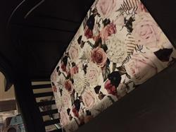 Kirbi M. verified customer review of Black Rose Crib Sheet