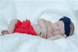 Katie J. verified customer review of Red Lace Diaper Cover
