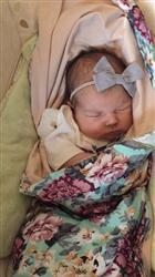 Donna M. verified customer review of Floral Mint Swaddle Set