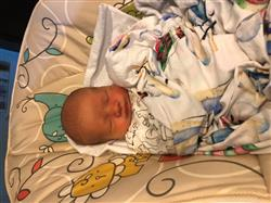 rachel r. verified customer review of Vintage Airplanes & Hot Air Balloon Swaddle Set