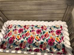 Sherri W. verified customer review of Fuchsia Wild Flower Crib Sheet
