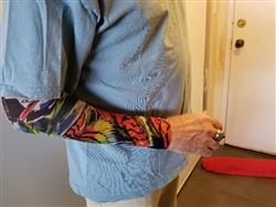 Ben N. verified customer review of Elastic Tattoo Arm Sleeve (6 x Arm Bundle)