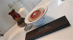 Gerard B. verified customer review of Fendrihan Porcelain Shaving Bowl and Classic Pure Grey Badger Shaving Brush with Metal Stand Set, Save $10