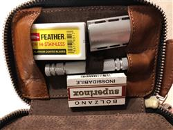 Rui F. verified customer review of Fendrihan Leather Travel Case for Safety Razor