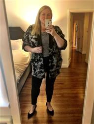 Susan K. verified customer review of Kimono Cardigan