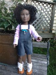 Paradise Cove Overalls 18 Doll Clothes Pattern