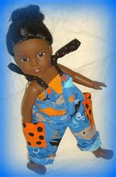 Hip Hop Hannah Romper 14-14.5 Doll Clothes Pattern