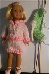 ella W. verified customer review of Mini Dresses Knitting Pattern for Mini Dolls