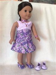 Knot Your Dress 18 Doll Clothes Pattern