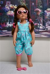 Rosie Romper 18 Doll Clothes Pattern