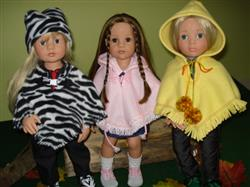 briant m. verified customer review of 60's Poncho & Hat 18 Doll Clothes