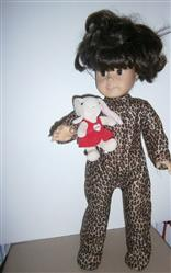 Costume Jumpsuit 18 Doll Clothes Pattern