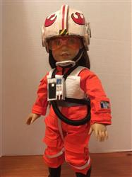 Melangell verified customer review of Galactic Pilot 18 Doll Clothes Pattern