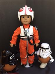 Sewbig verified customer review of Galactic Pilot 18 Doll Clothes Pattern