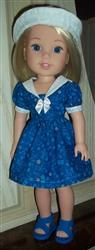 Nancy M. verified customer review of Sailorette 14.5 Doll Clothes Pattern