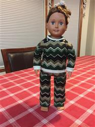 Lori P. verified customer review of Piccadilly Pj's 18 Doll Clothes Pattern
