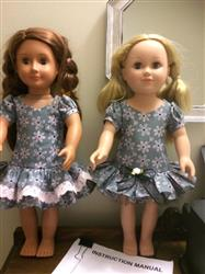 Therese T. verified customer review of Time to Celebrate 18 Doll Clothes Pattern