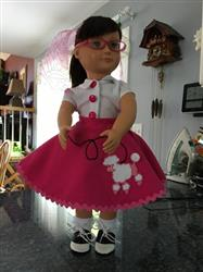 Marie A. verified customer review of The 4-Way Wardrobe 18 Doll Clothes