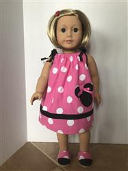 Sheila Stanton verified customer review of Drawstring Dress 18 Doll Clothes