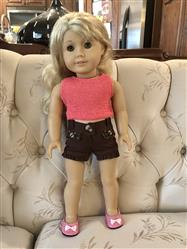 ginnie verified customer review of Joy Shorts 18 Doll Clothes Pattern