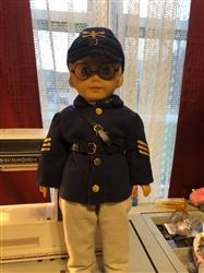Ramona A. verified customer review of Civil War Kepi Hat 18 Doll Accessories