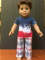 Melangell verified customer review of Boy's Boxer Short and Lounge Pants 18 Doll Clothes Pattern