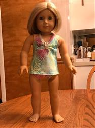 Tankini Swimsuit and Top 18 Doll Clothes Pattern