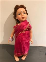 alison a. verified customer review of Indian Sari 18 Doll Clothes Pattern