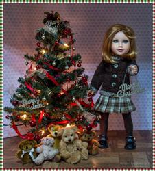 Guyaline F. verified customer review of Pleated Skirt 18 Doll Clothes Pattern