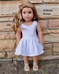 Peplum Top 18 Doll Clothes Pattern