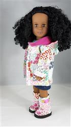 Tina Jones verified customer review of Oxford Square Coat 18 Doll Clothes Pattern
