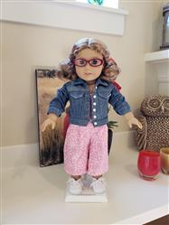 Kathleen Cummings  verified customer review of Denim Jacket 18 Doll Clothes Pattern