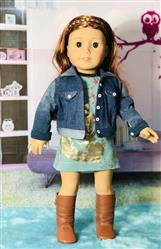 ginnie verified customer review of Denim Jacket 18 Doll Clothes Pattern