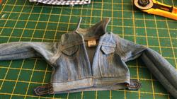 Dot K. verified customer review of Denim Jacket 18 Doll Clothes Pattern