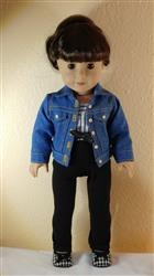 Carol J. verified customer review of Denim Jacket 18 Doll Clothes Pattern