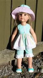 Sue T. verified customer review of Phoebe Hat 18 Doll Clothes Pattern
