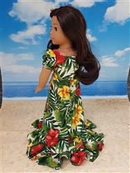 Lynne Thompson verified customer review of Aloha Holoku Dress 18 Doll Clothes Pattern